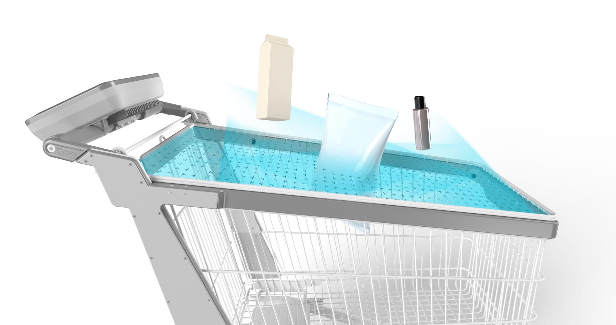 Il carrello acquisti intelligente di Tracxpoint riconosce i prodotti all'istante